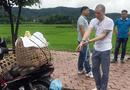 Vụ nữ sinh giao gà bị sát hại ở Điện Biên: 100 cảnh sát bảo vệ cuộc thực nghiệm hiện trường