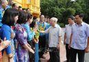 Tin trong nước - Tổng Bí thư, Chủ tịch nước Nguyễn Phú Trọng gặp mặt Đoàn đại biểu cán bộ công đoàn tiêu biểu