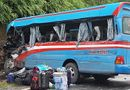 Pháp luật - Khởi tố tài xế xe đầu kéo tông xe khách chở đoàn thiện nguyện ở Tuyên Quang