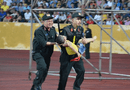 Tin trong nước - Vụ Đại úy CSCĐ dùng tay chèn miệng cứu bé trai trên sân Thiên Trường: Chia sẻ bất ngờ của người mẹ