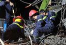 Tin trong nước - Hiện trường đổ nát vụ sập giàn giáo khiến 8 người thương vong ở Hải Phòng