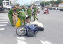 Tin trong nước - Đà Nẵng: Con trai gào khóc bên thi thể cha bị xe ben cán