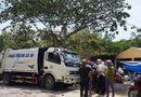 Tin trong nước - Xe chở rác hất văng 2 xe máy, tông tiểu thương tử vong ngay cổng chợ