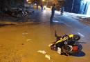 Tin trong nước - Truy đuổi cướp trên đường, cô gái tông vào xe máy khác rồi lao xuống cống