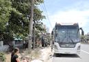 Tin trong nước - Quảng Trị: Tạm giữ tài xế xe khách dương tính với ma túy chống đối, lao vào xe CSGT