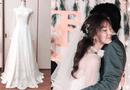 Cộng đồng mạng - Cô gái xinh đẹp tự tay may váy cưới cho mình khiến dân mạng phục sát đất