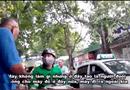 """Tin trong nước - Video: Xe ôm """"bảo kê"""" trước cổng bệnh viện Nhi Trung ương, hành hung tài xế xe ôm công nghệ"""