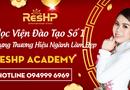 Truyền thông - Thương hiệu - Tập đoàn ResHP Việt Nam khai giảng khóa học chăm sóc da từ cơ bản đến nâng cao đầu tiên tại Hà Nội
