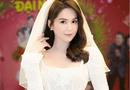 Tin tức giải trí - Ngọc Trinh diện váy cưới đẹp lộng lẫy gây bất ngờ
