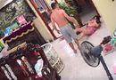 Cộng đồng mạng - Chồng vũ phu thẳng tay đánh vợ đang bế con nhỏ khiến dân mạng dậy sóng