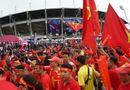 """Bóng đá - CĐV Việt Nam """"nhuộm đỏ"""" sân Thammasat trước trận đại chiến với Thái Lan"""
