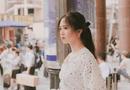 Cộng đồng mạng - Tân nữ sinh Đại học Luật khiến dân mạng ngẩn ngơ vì vẻ đẹp ngây thơ