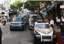 Ôtô - Xe máy - Cận cảnh dàn siêu xe hơn 100 tỷ đi đưa dâu con gái Minh Nhựa