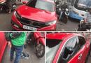 Tin trong nước - Thầy chùa vác gậy đập vỡ kính ôtô người đi đường ở Đắk Lắk khai gì?