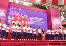 Truyền thông - Thương hiệu - CLB bóng đá Hà Nội tổ chức sinh nhật cho Duy Mạnh ở trường THCS Marie Curie