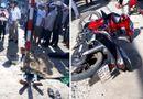 Tin trong nước - Nam thanh niên say xỉn, chạy xe tốc độ cao chở theo bạn gái lao vỉa hè tử vong tại chỗ