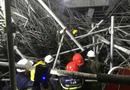 Tin trong nước - Hải Dương: Sập giàn giáo Trung tâm văn hóa Xứ Đông, 5 công nhân bị thương