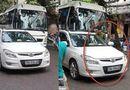 Tin tức - Hà Nội: Trung úy công an đỗ xe giữa đường bị xử phạt