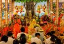 Xã hội - Bình Tây dâng Y KATHINA cùng hội đồng điều hành học viện Phật giáo Nam Tông KHMER