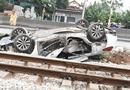 Tin trong nước - Tin tức tai nạn giao thông mới nhất hôm nay 16/11/2019: Tàu hỏa tông ô tô, nữ tài xế tử vong