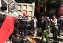 Tin trong nước - Tin tức tai nạn giao thông mới nhất hôm nay 20/11/2019: Xe khách tông xe tải, 3 người bị thương