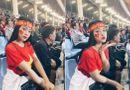 Cộng đồng mạng - Cận cảnh nhan sắc nữ CĐV khiến dân mạng ngẩn ngơ vì quá xinh đẹp