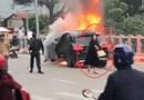 An ninh - Hình sự - Vụ Mercedes gây tai nạn kinh hoàng, 1 người chết ở Hà Nội: Nữ tài xế ra trình diện