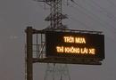"""Tin trong nước - Tin tức thời sự mới nóng nhất hôm nay 25/11/2019: Dòng chữ """"lạ"""" ở cao tốc Long Thành khiến nhiều tài xế bối rối"""