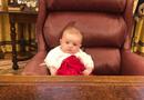 Tin thế giới - Hình ảnh gây sốt của cô cháu gái út Tổng thống Trump tại nhà Trắng