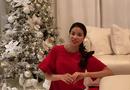 Chuyện làng sao - Phạm Hương lần đầu hé lộ toàn bộ căn biệt thự lộng lẫy tại Mỹ mùa Giáng sinh