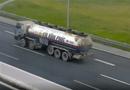 Tin trong nước - Xử phạt tài xế lùi xe bồn trên cao tốc Hà Nội - Hải Phòng 17 triệu đồng