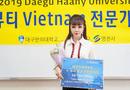 Cần biết - Hoa hậu Hà Thu Trang được Đại học Y Daegu Haany, Hàn Quốc bổ nhiệm chức giáo sư