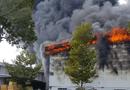 Tin trong nước - Cháy kinh hoàng tại khu công nghiệp ở Bình Dương, khói đen bốc cao ngút trời