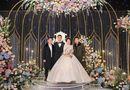 Chuyện làng sao - Hai thiếu gia nhà bầu Hiển thu hút sự chú ý khi đến dự đám cưới Duy Mạnh - Quỳnh Anh