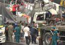 Video-Hot - Video: Hiện trường ớn lạnh vụ xe tải tông đuôi container, 3 người tử vong