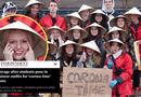 Đời sống - Trường học Bỉ xin lỗi vì bức ảnh học sinh đội nón lá, giơ biển virus corona chế giễu người Châu Á