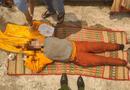 An ninh - Hình sự - Phát hiện thi thể nữ giới mặc đồ cúng, đeo nhiều trang sức dạt cảng Tiên Sa
