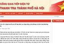 Tin trong nước - Kết luận thanh tra liên quan đến Phó Chủ tịch TP.Hà Nội bất ngờ bị gỡ
