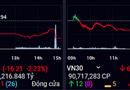 """Kinh doanh - Cổ phiếu của nhiều """"ông lớn"""" giảm giá trong phiên giao dịch cuối tuần"""