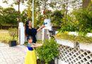 Tin tức giải trí - Á hậu Trịnh Kim Chi hé lộ vườn hoa trái xanh mướt mắt bên trong biệt thự rộng 200m2