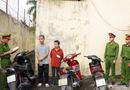 """An ninh - Hình sự - Hà Nam: Đôi nam nữ trộm cắp hàng loạt xe máy lấy tiền chơi """"game"""""""