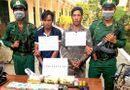 Pháp luật - Bắt giữ nhóm đối tượng mang theo súng ngắn, vận chuyển ma túy từ Lào về Việt Nam
