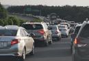 """Tin trong nước - Cao tốc TP.HCM - Long Thành - Dầu Giây ùn tắc nghiêm trọng, ô tô nối đuôi nhau chạy tốc độ """"rùa bò"""""""