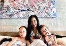 """Chuyện làng sao - Diva Hồng Nhung đăng ảnh cùng các con nhưng """"người đàn ông lạ mặt"""" mới là tâm điểm gây chú ý"""
