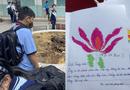 Giáo dục pháp luật - Bạn bè viết thư cho nam sinh mất vì cây đổ: Kiếp sau mình lại làm bạn chung lớp tiếp nha!