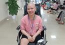 Đời sống - Ước mong có... chân giả và tự tin là cây xương rồng của bé gái bị ung thư