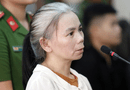 An ninh - Hình sự - Phúc thẩm vụ sát hại nữ sinh giao gà: Bùi Thị Kim Thu đấm Lường Văn Lả tại tòa