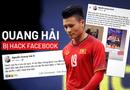 Giải trí - Quang Hải bị hack facebook: Hé lộ đoạn tin nhắn nhạy cảm, có liên quan đến phụ nữ