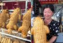 """Đời sống - Chiếc bánh mì tạo hình cá sấu """"siêu to khổng lồ"""", dân mạng tranh cãi ỏm tỏi: Là con thạch sùng đại bự mà?"""