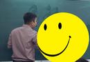 """Chuyện học đường - Đám học trò trong lớp náo loạn bởi hành động """"quá đỗi dễ thương"""" này của thầy giáo"""